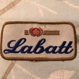 Other - Vintage Labatts patch